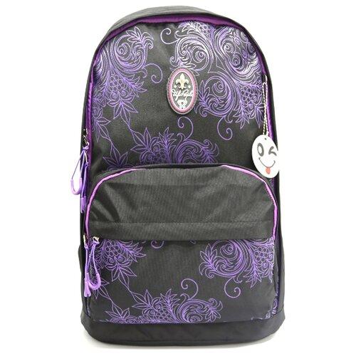 ufo people рюкзак школьный цвет черный 7227 Рюкзак Ufo People 7649 10.7 черный/фиолетовый