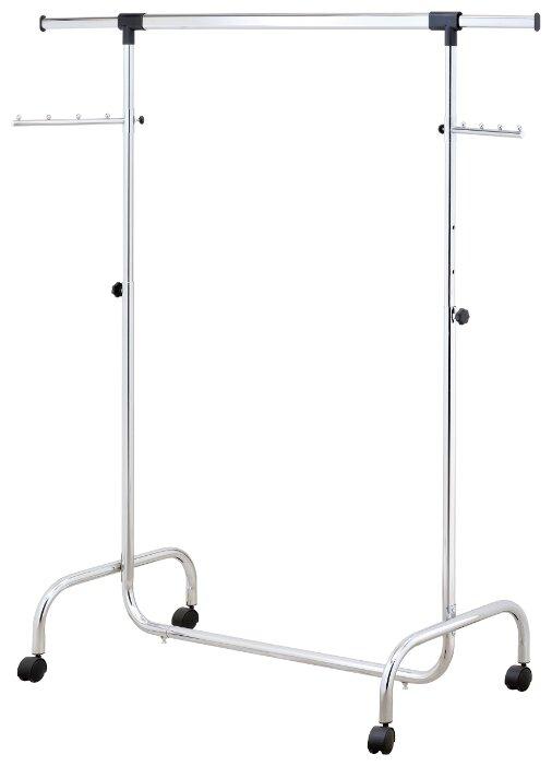 Купить Напольная вешалка для одежды UniStor RINO передвижная напольная стойка для одежды на колёсиках по низкой цене с доставкой из Яндекс.Маркета (бывший Беру)
