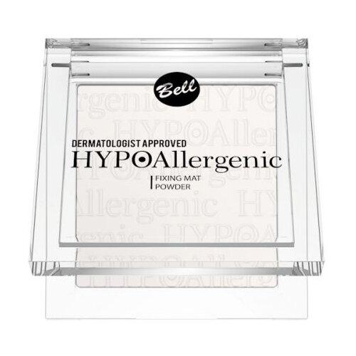 Bell пудра фиксирующая макияж гипоаллергенная HYPOAllergenic Fixing Mat Powder 9 г 01 bell hypoallergenic mat