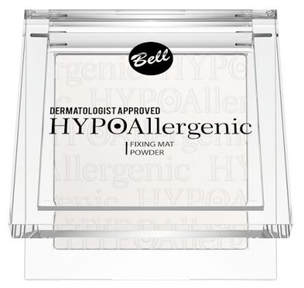 Bell пудра фиксирующая макияж гипоаллергенная HYPOAllergenic Fixing Mat Powder 9 г