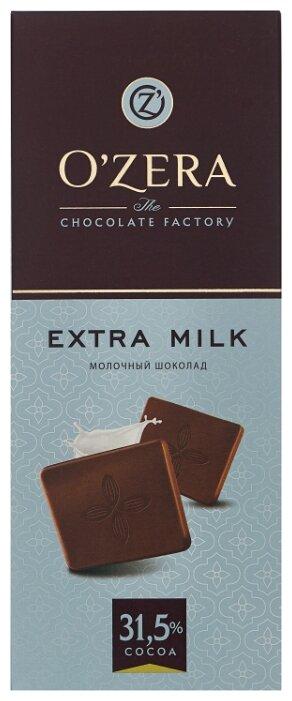 Шоколад O'Zera Extra milk молочный, 90 г