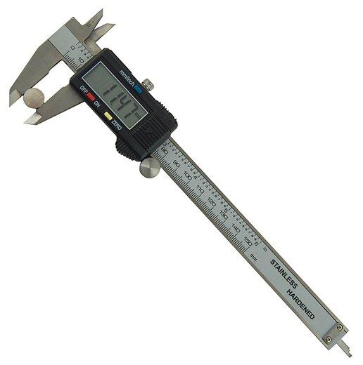 Цифровой штангенциркуль МЕГЕОН 80700 150 мм, 0.01 мм