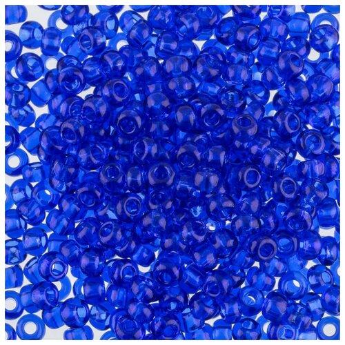Купить Бисер Preciosa , 10/0, 50 грамм, цвет: 30080 синий, Фурнитура для украшений