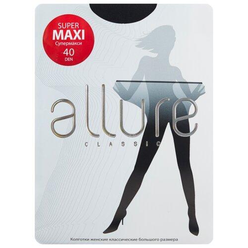 Колготки ALLURE Classic Supermaxi 40 den, размер 6, nero (черный)