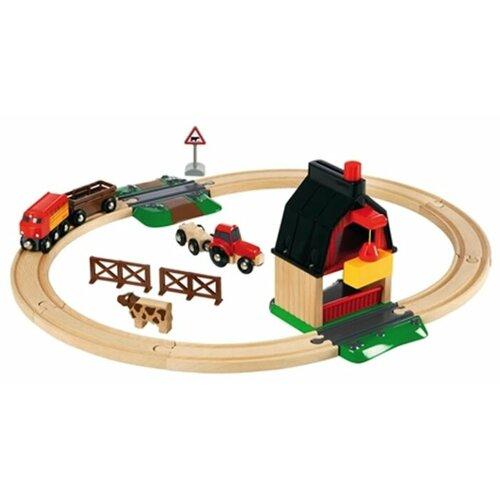 Купить Brio Стартовый набор Ферма , 33719, Наборы, локомотивы, вагоны