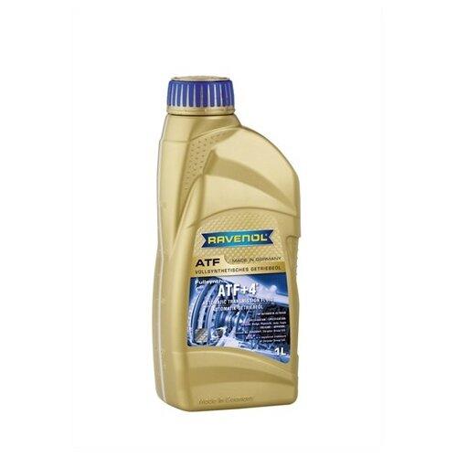 Масло трансмиссионное Ravenol ATF+4 Fluid, 1 л трансмиссионное масло ravenol dps fluid 1 л