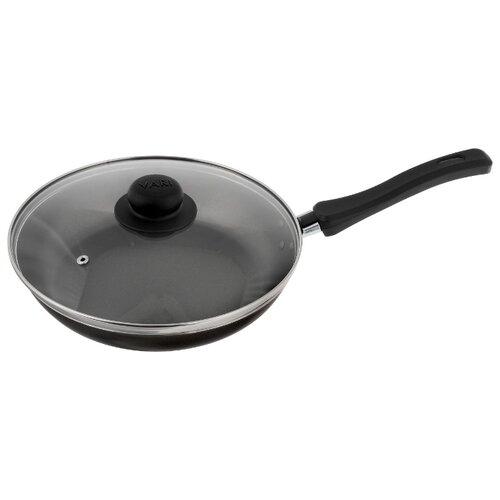 Сковорода VARI Bistrp F18124/11 24 см с крышкой, черный глянец vari litta l32124 24 см