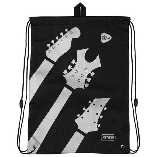 Kite Сумка для обуви Education Be sound (600L-9) черный/серый