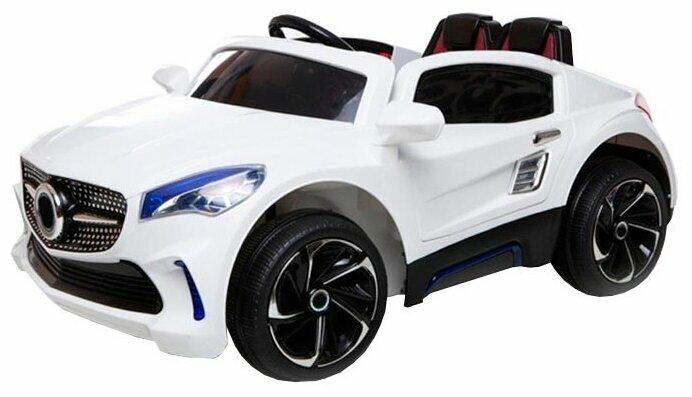 Детский электромобиль Joy Automatic Mercedes S LUX черный [BJF007]