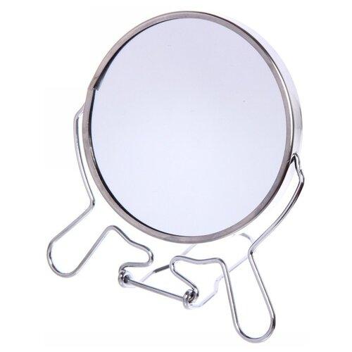 Зеркало косметическое настольное Advance Limited 548-037 серебристый