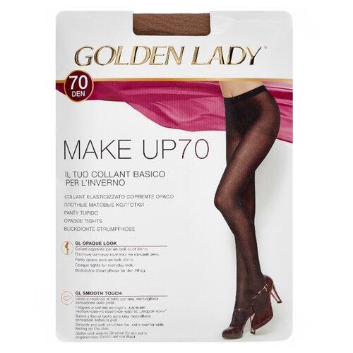 Колготки Golden Lady Make Up 70 den, размер 4-L, daino (бежевый) колготки golden lady leda 20 den размер 4 l daino бежевый