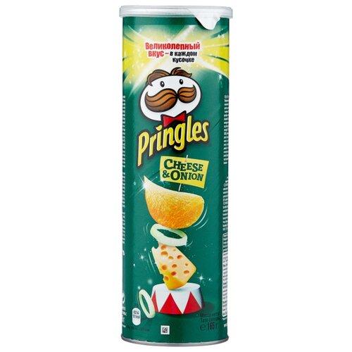 Чипсы Pringles картофельные Cheese & onion, 165 г