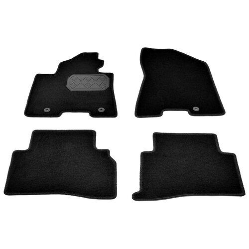 Комплект ковриков NorPlast NPA00-VTe430-525 Kia Sportage 4 шт. черный