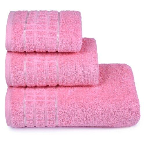 Полотенце махровое ДМ-Люкс Megapolis40x60см. цвет: розовый