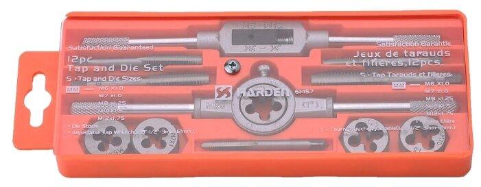 Набор метчиков и плашек Harden 610457