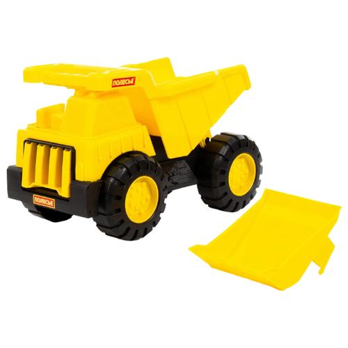 Фото - Грузовик Полесье Эксперт многофункциональный (84286) желтый полесье набор игрушек для песочницы 468 цвет в ассортименте