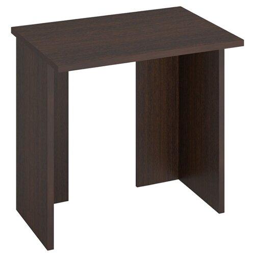 Компьютерный стол Мэрдэс Домино Lite СКЛ-Прям без тумбы, 80х60 см, цвет: венге