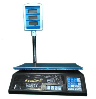 Весы торговые Romitech ST-ACS-40-2