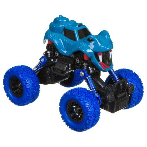 Купить Монстр-трак BONDIBON Парк техники (ВВ4575) синий, Машинки и техника