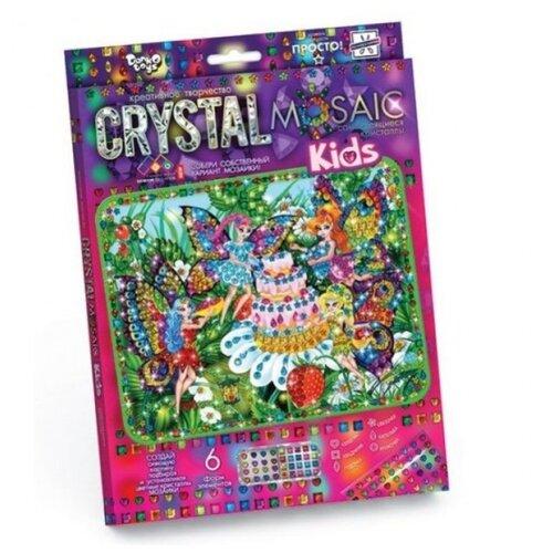 Купить Danko Toys Набор алмазной вышивки Crystal Mosaic Феи (CRMk-01-08), Алмазная вышивка