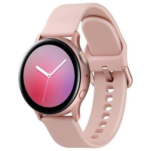 Часы Samsung Galaxy Watch Active2 алюминий 40 мм ваниль смарт часы samsung galaxy watch active2 44мм 1 4 super amoled серебристый sm r820nzsrser
