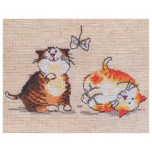 Купить 0-30 Набор для вышивания АЛИСА 'Цап-царап' 15*10см, Алиса, Наборы для вышивания