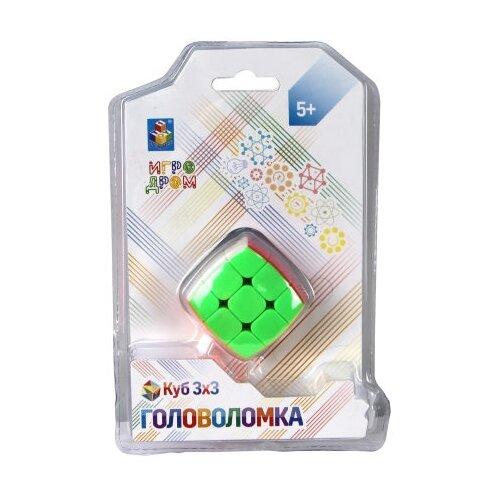 Головоломка 1 TOY Куб (Т14204) разноцветный головоломка 1 toy шар т14208
