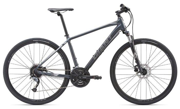 Городской велосипед Giant Roam 2 Disc (2019) угольный XL