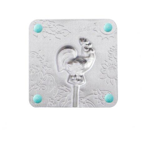 Форма для мороженого Леденцовая фабрика Петушок (0010) серебристый