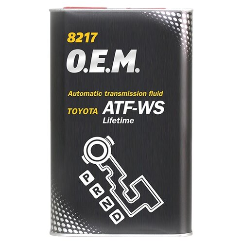 Трансмиссионное масло Mannol O.E.M. 8217 ATF WS 1 л трансмиссионное масло totachi atf ws 1 л 1 кг