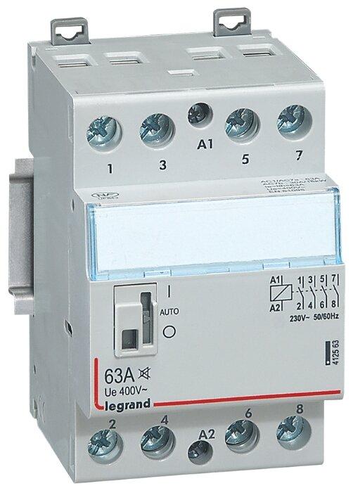 Модульный контактор Legrand 412563 63А