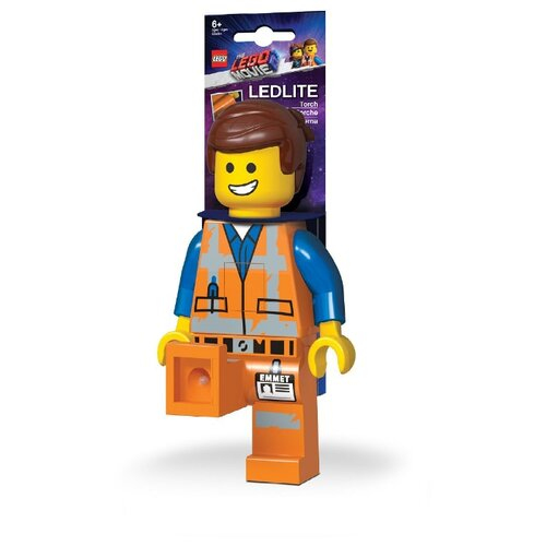 LGL-TO26 Игрушка-минифигура-фонарь LEGO Movie 2 (Лего Фильм 2) - Emmet ночники lego игрушка минифигура фонарь star wars штормтрупер