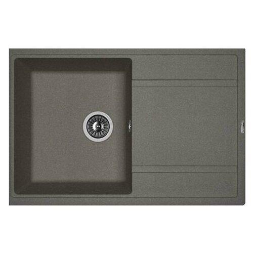 Врезная кухонная мойка 78 см FLORENTINA Липси-780 FG 20.270.C0780.102 черный