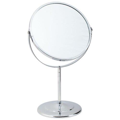 Зеркало косметическое настольное Del Mare L01-8 хром зеркало косметическое swensa 20 см настольное хром l01 8