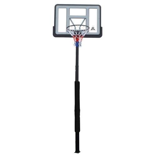 Баскетбольная стационарная стойка DFC ING44P3 112x75cm, акрил, раздвижная регулировка (три места)