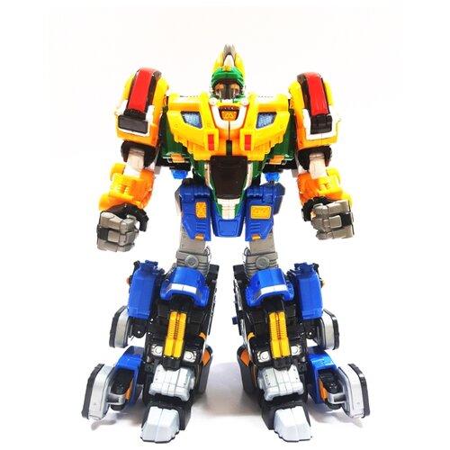 Купить Трансформер YOUNG TOYS Metalions Auto Changer Thunder Guardian желтый/синий, Роботы и трансформеры