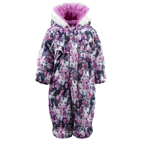 Купить Комбинезон KERRY RIIA K19407 размер 74, 1755 розовый, Теплые комбинезоны