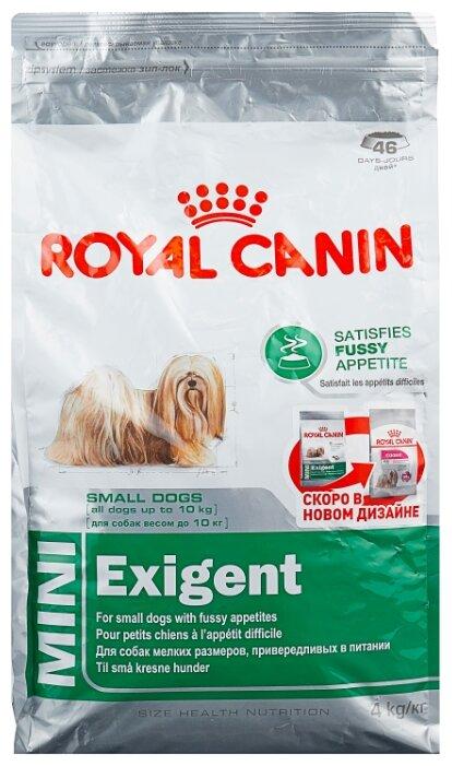Корм для собак Royal Canin Exigent 4 кг (для мелких пород)