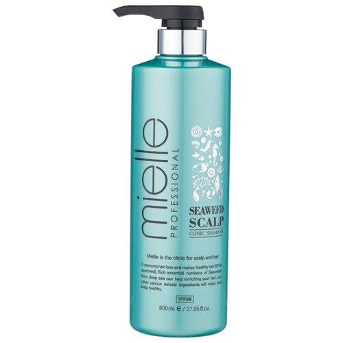 Купить Mielle Professional шампунь Seaweed Scalp Clinic против выпадения волос с морскими водорослями 800 мл с дозатором