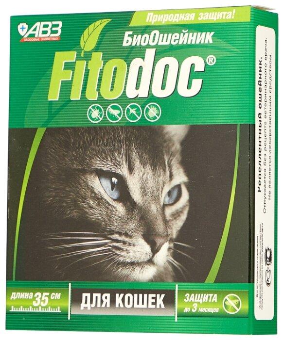 Агроветзащита ошейник от блох и клещей Fitodoc