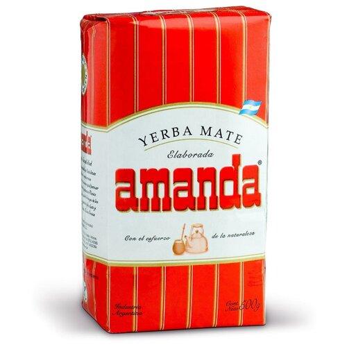 Чай травяной Amanda Yerba mate Tradicional , 500 г чай травяной amanda yerba mate naranja 500 г