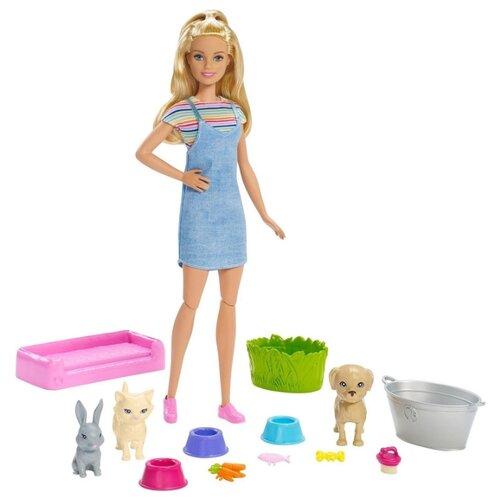Купить Кукла Barbie и домашние питомцы, FXH11, Куклы и пупсы