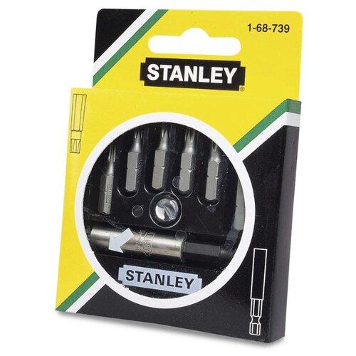 Набор бит STANLEY (7 предм.) 1-68-739 черный/серебристый