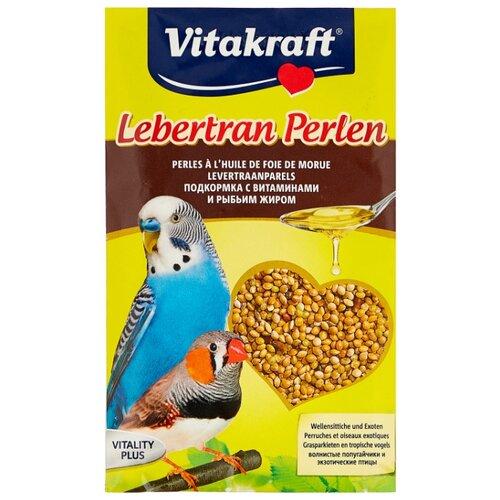 Добавка в корм Vitakraft для волнистых попугаев с витаминами и рыбьим жиром 20 г
