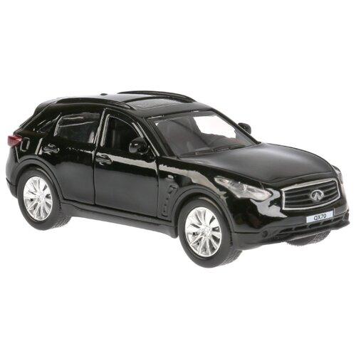 Легковой автомобиль ТЕХНОПАРК Infiniti QX70 12 см черный легковой автомобиль технопарк электокар x600 h09225 r 10 см черный белый
