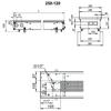 Водяной конвектор Techno Usual KVZ 250-120-1000