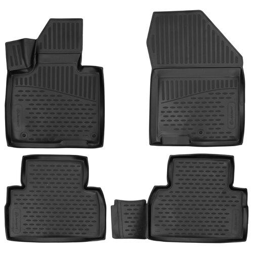Комплект ковриков ELEMENT 3D01995210 для Hyundai Santa Fe 4 шт. черный