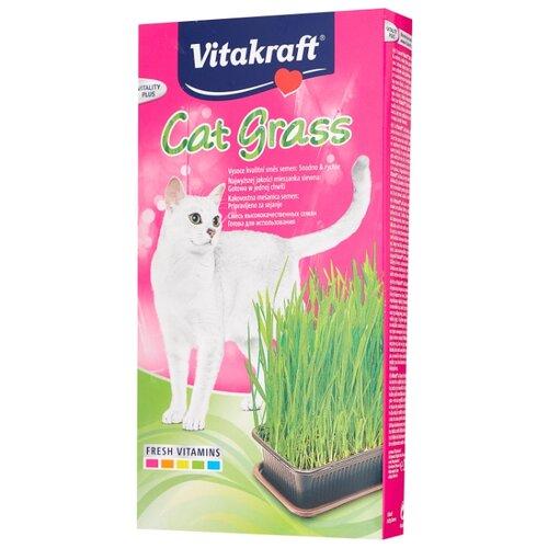 Лакомство для кошек Vitakraft Cat grass (смесь для проращивания травы), 120г