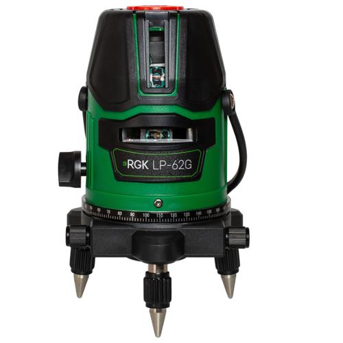 Лазерный уровень самовыравнивающийся RGK LP-62G уровень rgk u4040