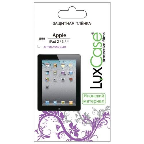 цена на Защитная пленка LuxCase для Apple iPad 2/3/4 антибликовая прозрачный